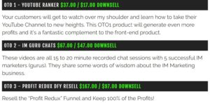 Profit Redux Review - Product OTO Image from Website