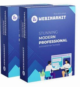Get Webinar Kit Review - WebinarKit Product Boxes