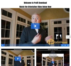 Profit Download Orientation Video