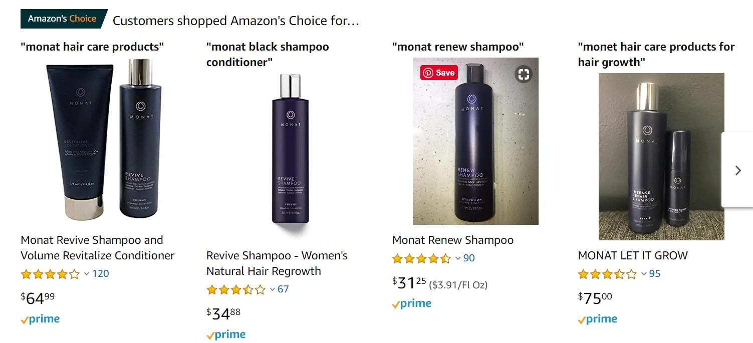 Monat Products for Sale on Amazon