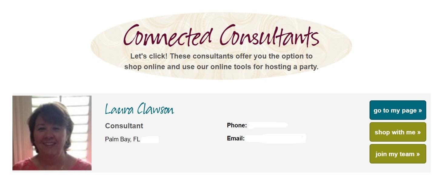 Tastefully Simple Consultant