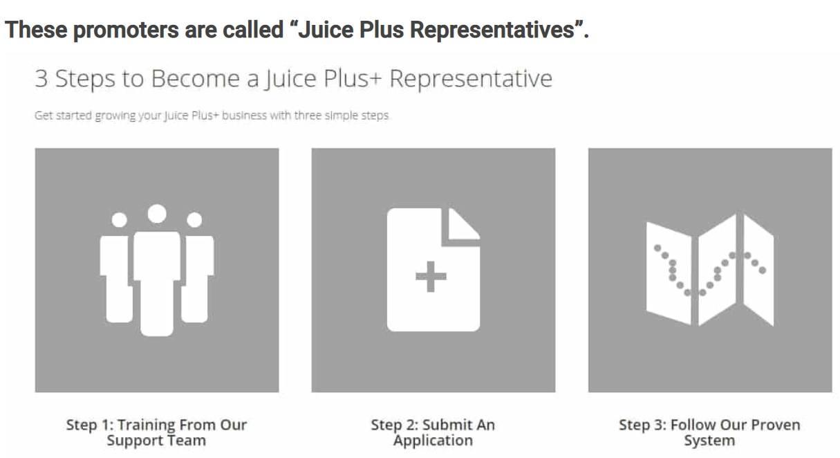Juice Plus Representatives