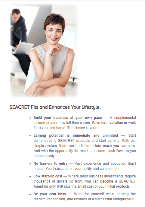 Seacret Skincare Selling Products