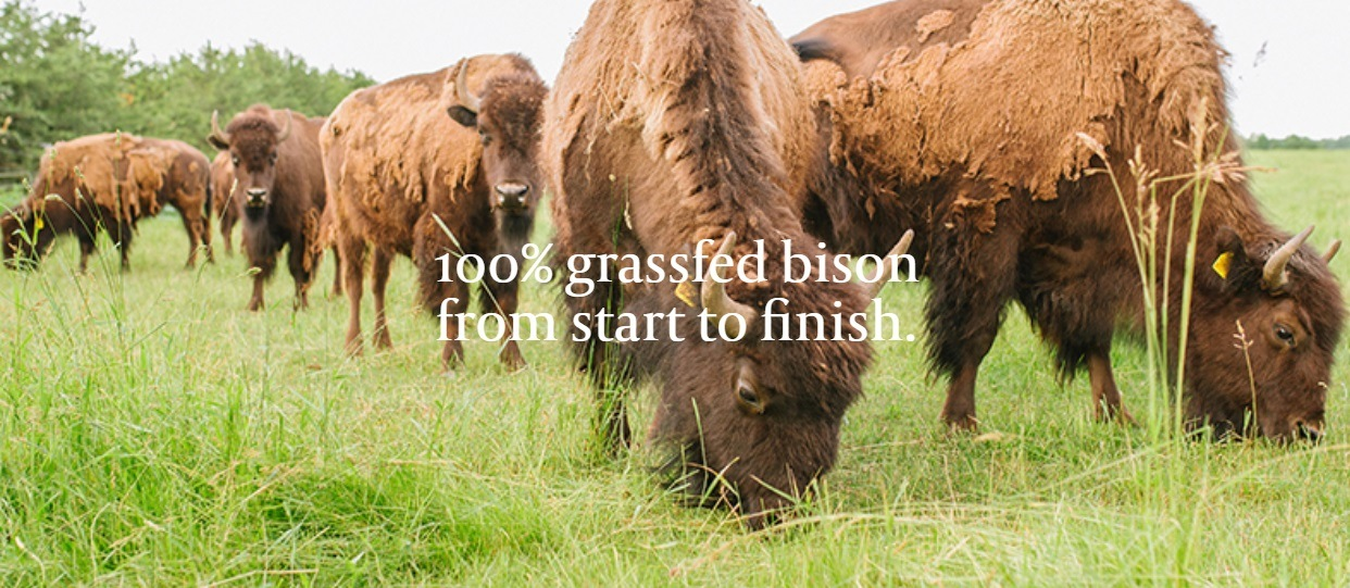 100% Grass Fed Bison