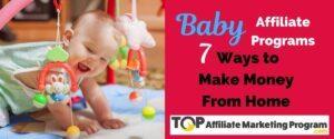 Baby Affiliate Programs