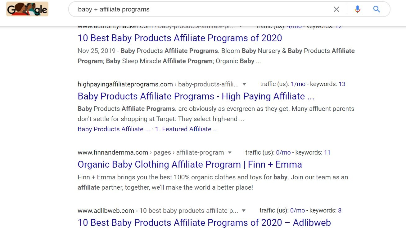 Baby Affiliate Programs Google Search