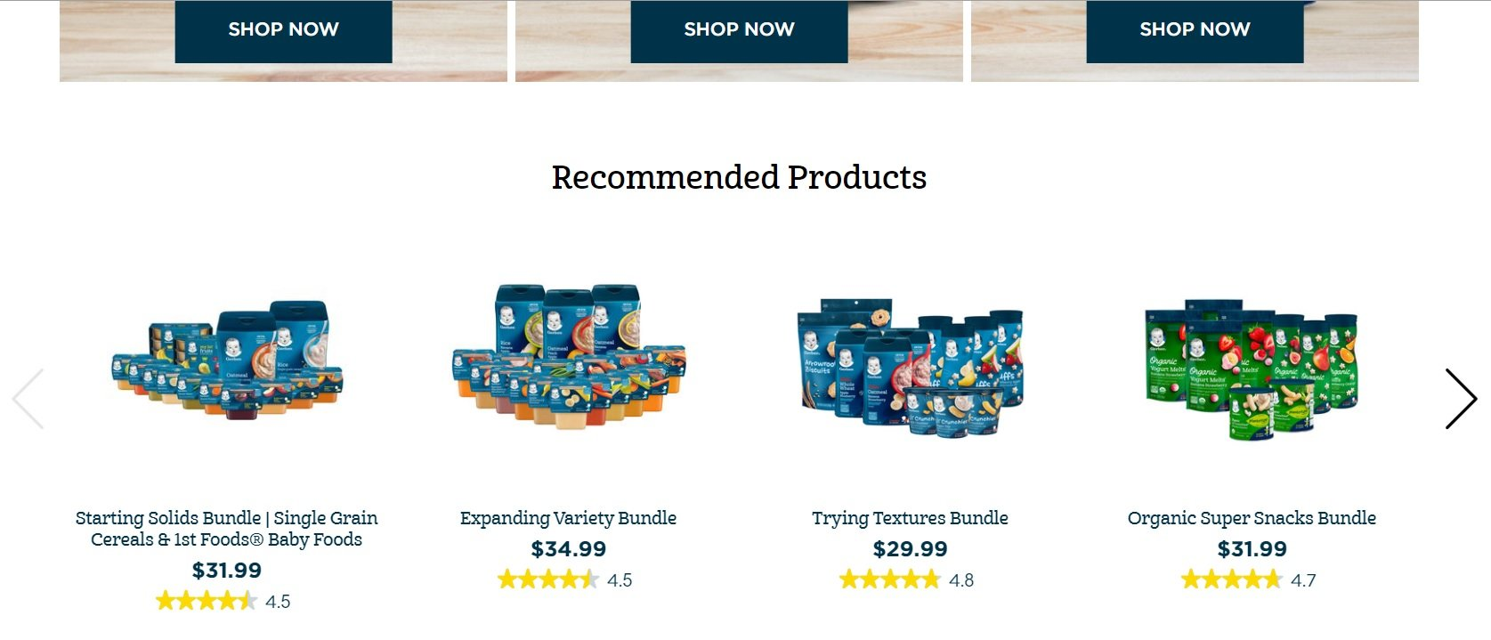 Food Huggers Recommended Products