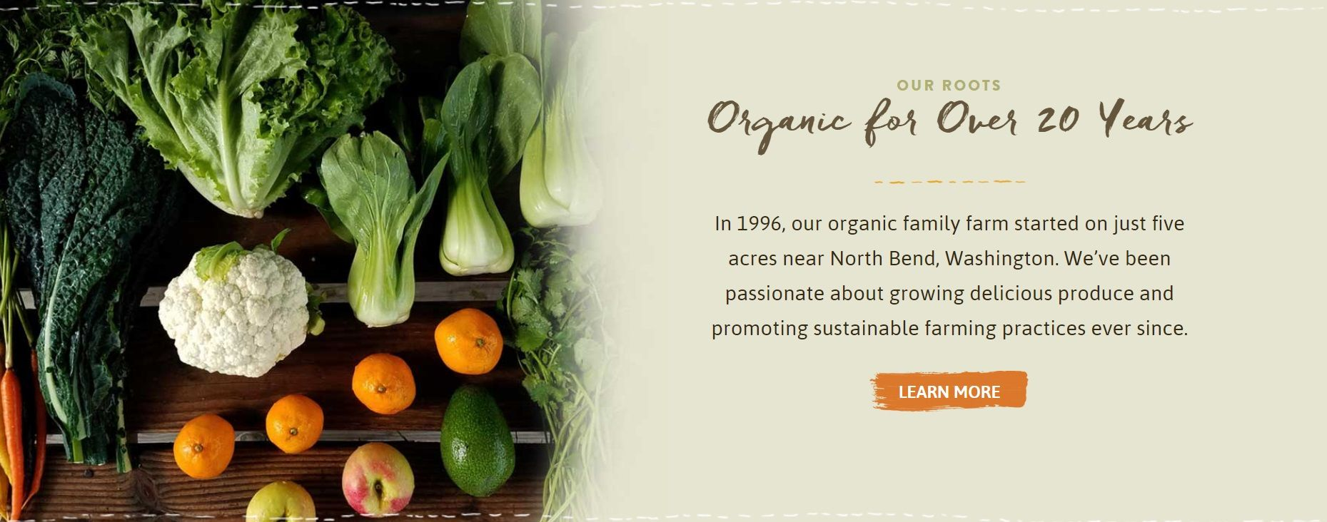 Full Circle Organic for Over 20 Years