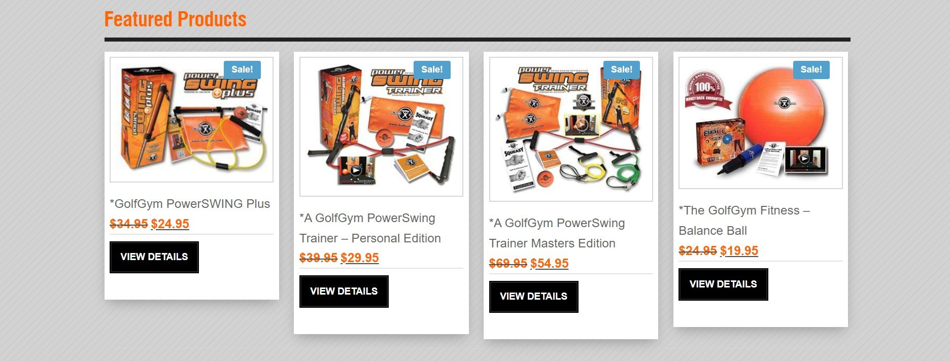 Golfgym Featured Products