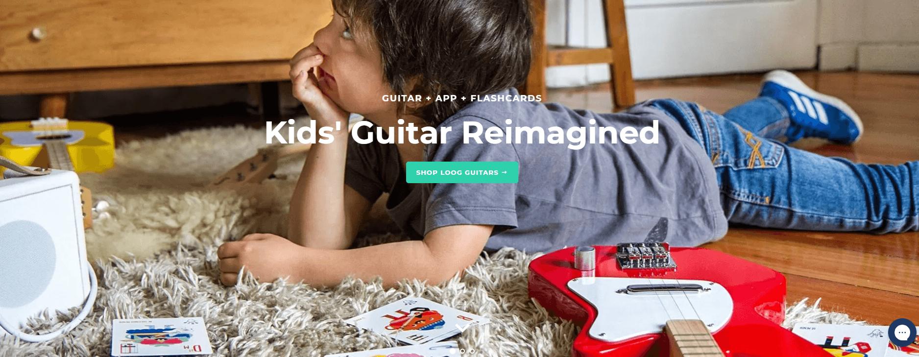 Loog Guitars - Kids' Guitar Reimagined