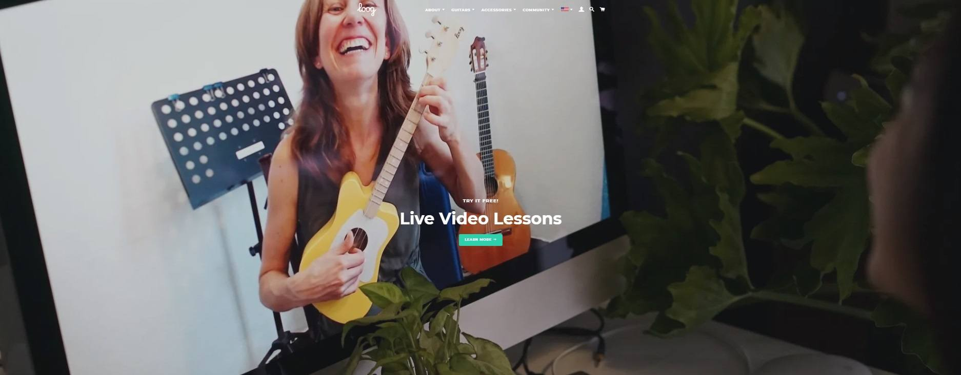Loop Guitar - Live Video Lessons