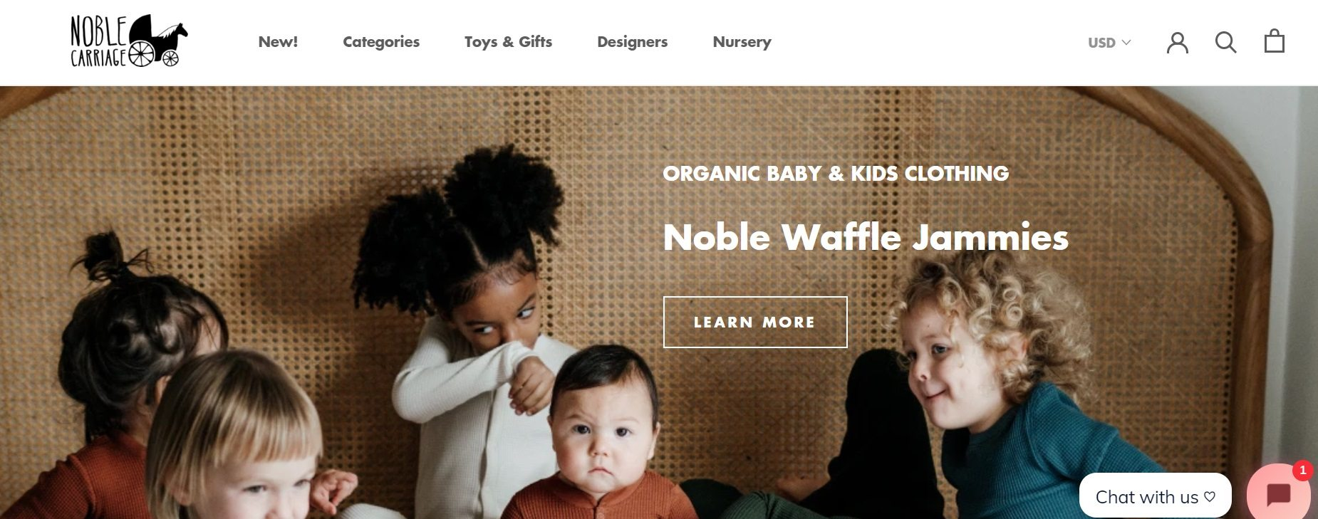 Noble Carriage Organic Baby & Kids Clothing