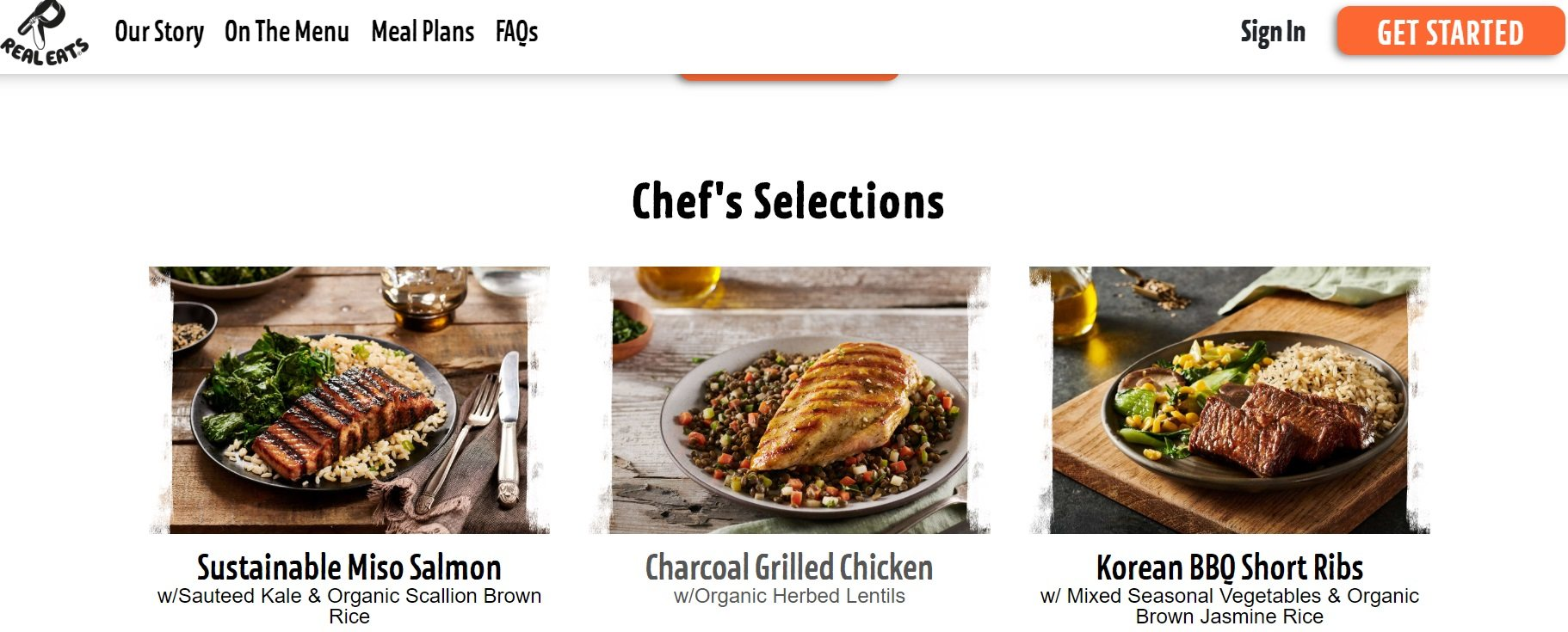 Real Eats - Chef's Selections