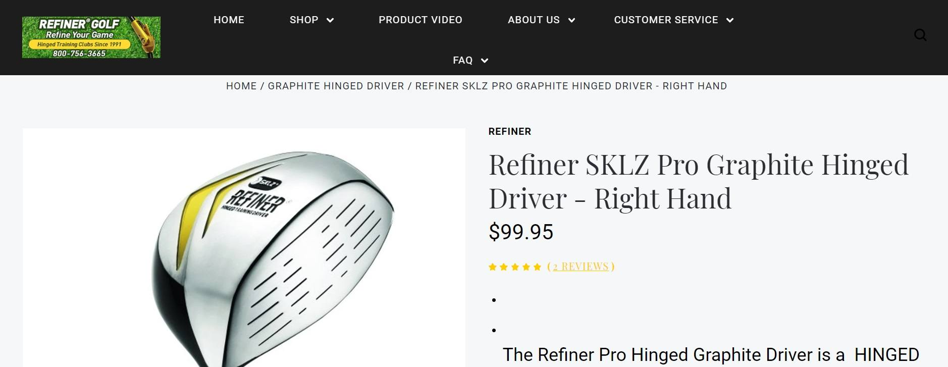Refiner Hinged Driver