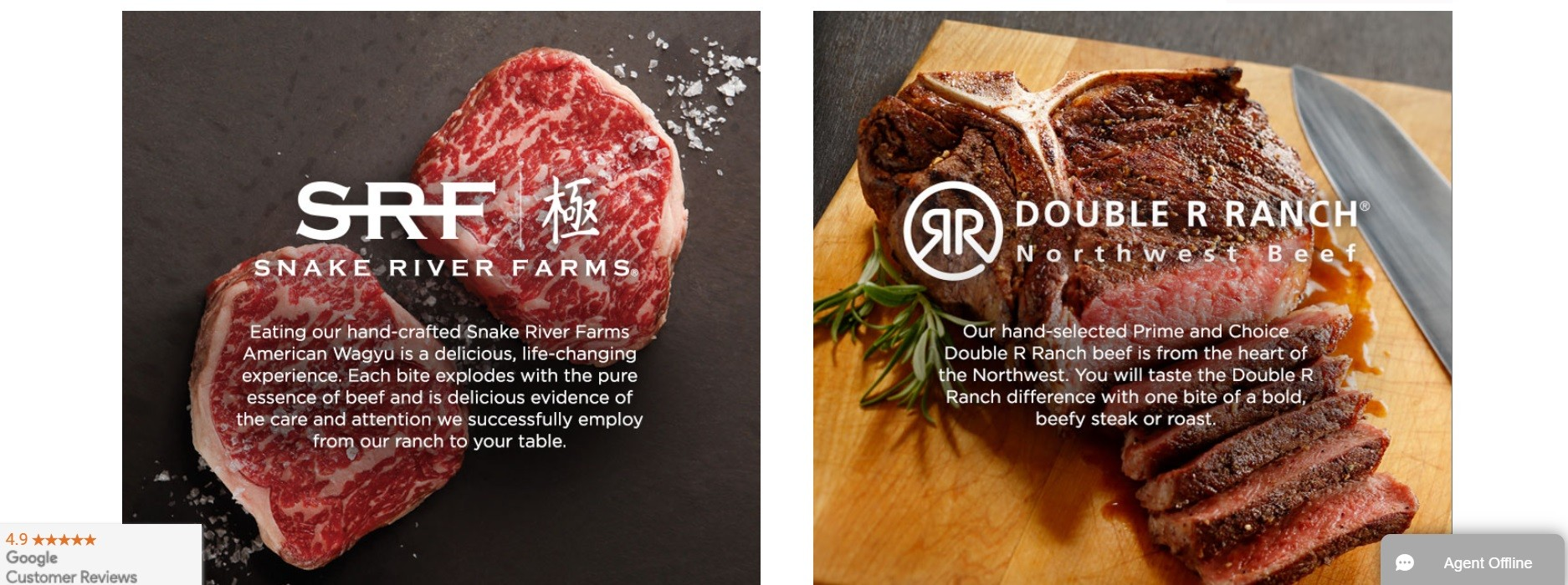 Snake River Farms - Double R Ranch Northwest Beef