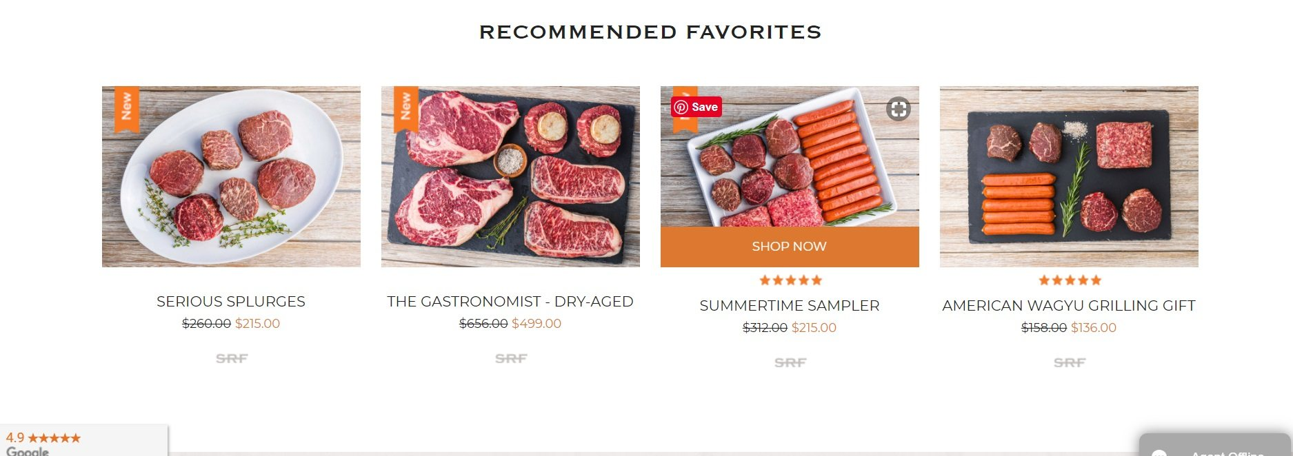 Snake River Farms - Recommended Favorites