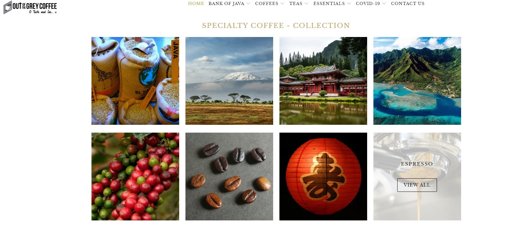 Specialty Coffee - Collection