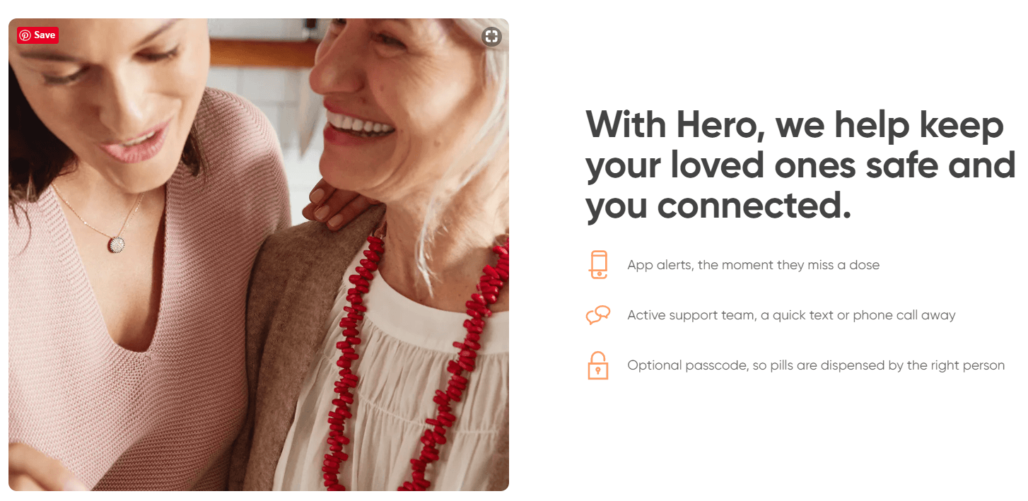 With Hero Staying Connected