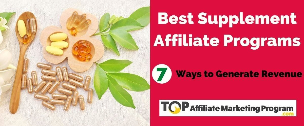 Best Supplement Affiliate Programs