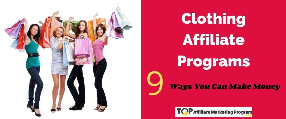 Clothing Affiliate Programs