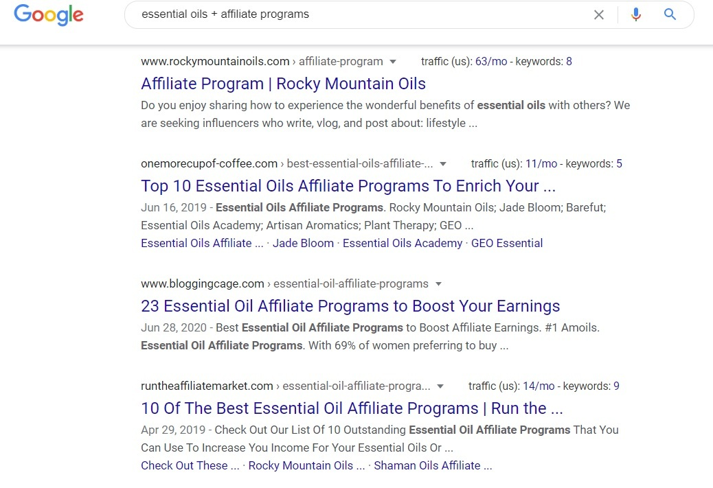 Essential Rose Life Affiliate Program - Google Search