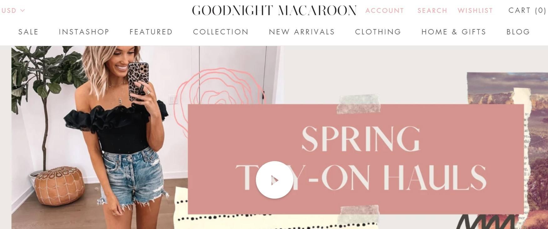 Goodnight Macaroon Spring Toy - On Hauls