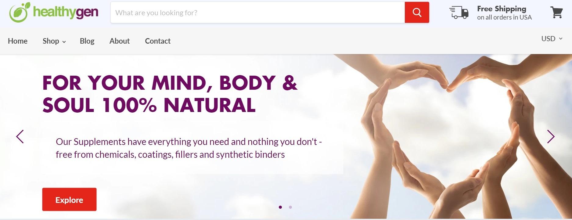 Healthygen Affiliate Program