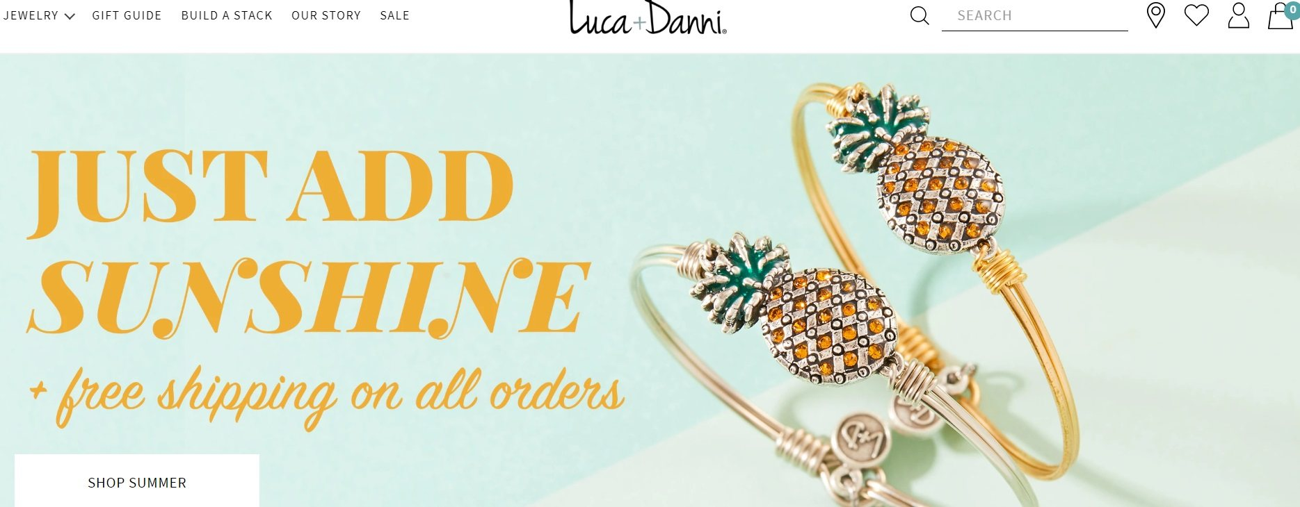 Luca and Danni Jewelry