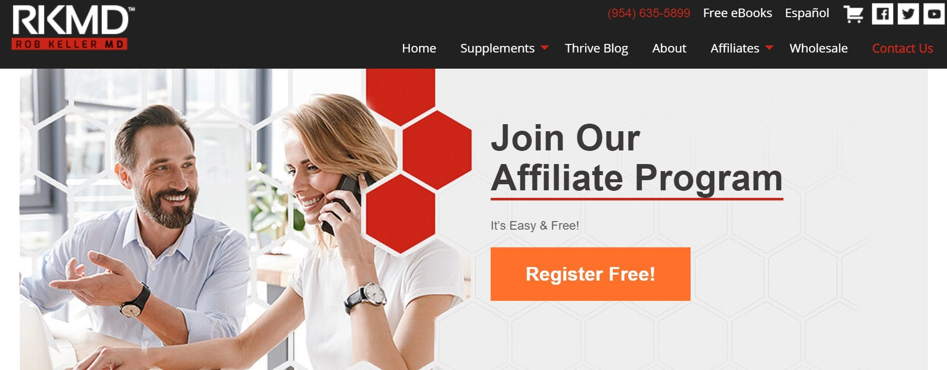Rob Keller MD Affiliate Program