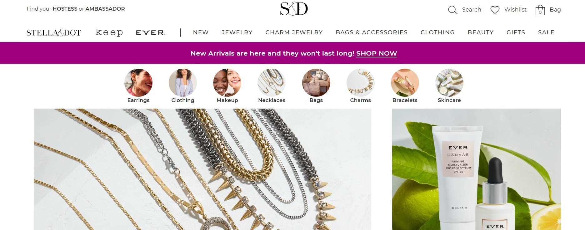 Stella and Dot Jewelry