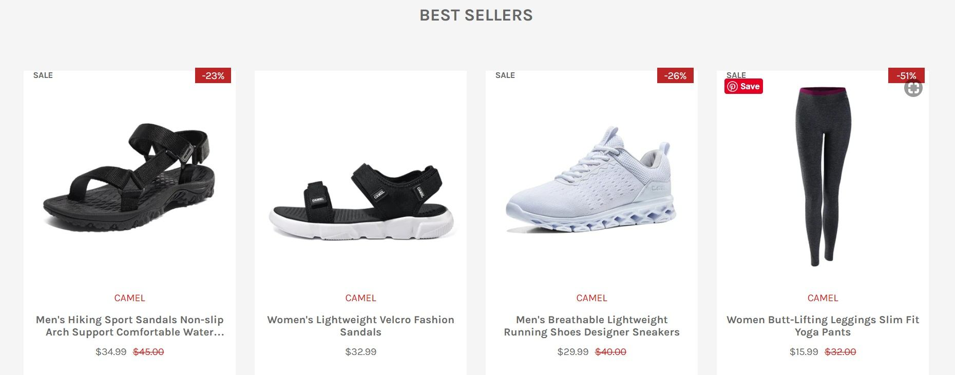 The Camel Store Best Sellers