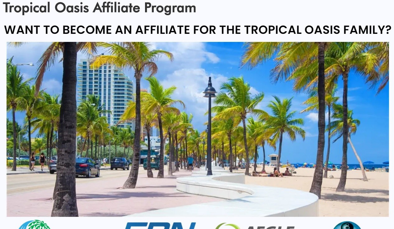 Tropical Oasis Affiliate Program