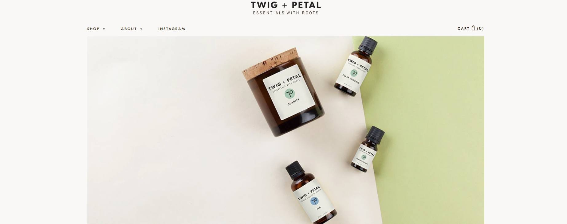 Twig + Pedal Essential Oils