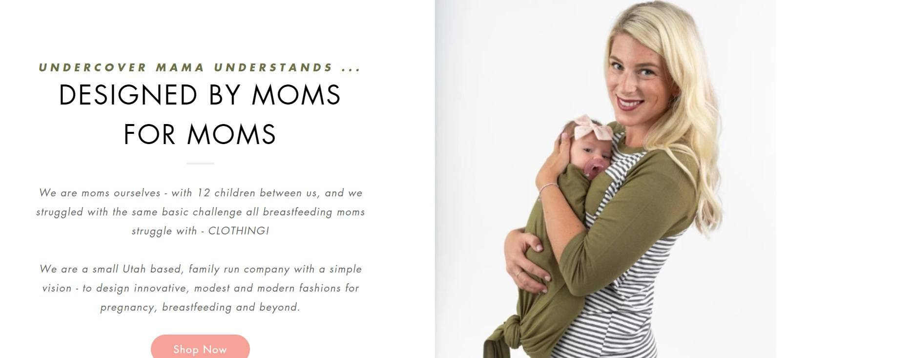 Undercover Mama - Designed By Moms For Moms