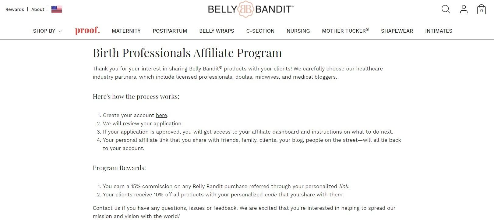 Belly Bandit Affiliate Program