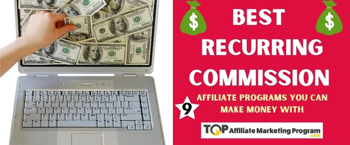 Best Recurring Commission Affiliate Programs Featured Image
