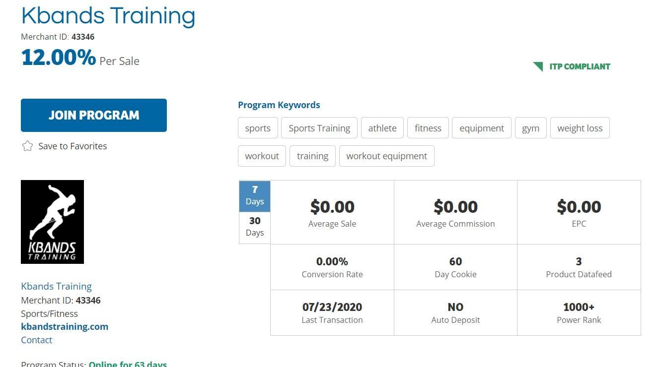 KBands Training Affiliate Program