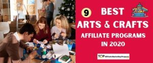 Best Arts and Crafts Affiliate Programs Featured Image