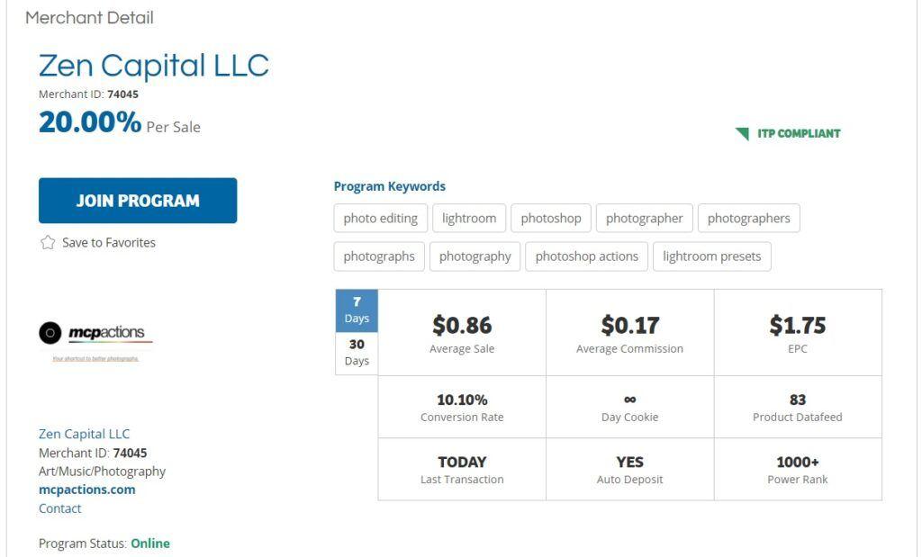Zen Capital LLC MCP Actions