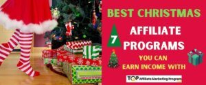 Best Christmas Affiliate Programs Featured Image