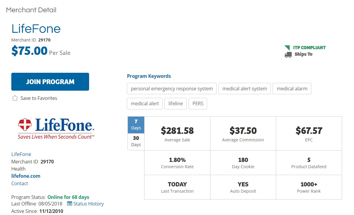 LifeFone Affiliate Program