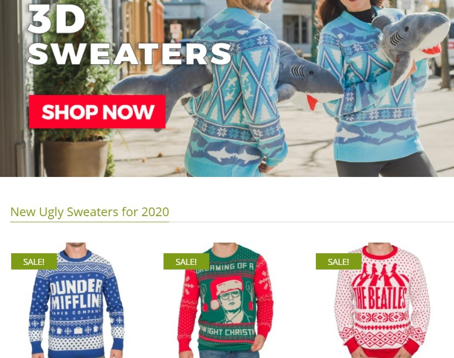 Ugly Christmas Sweaters 3D Sweaters