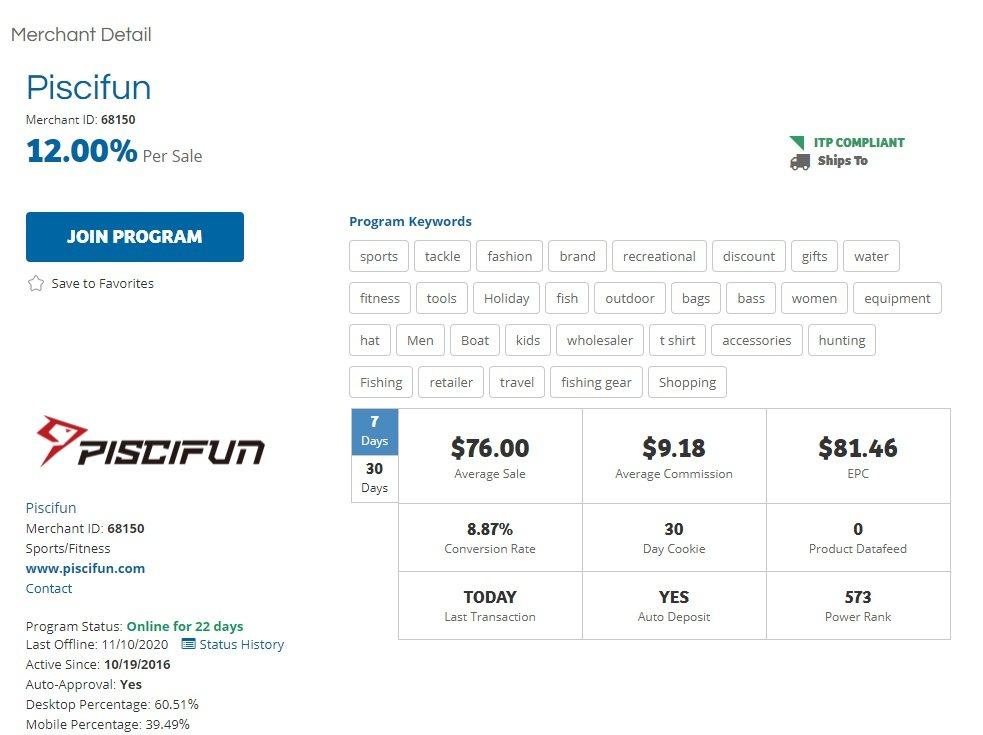 Piscifun Affiliate Program