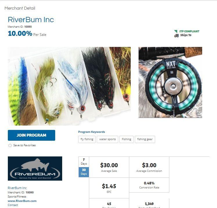 RiverBum Affiliate Program