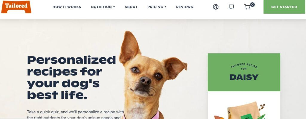 Tailored Pet Nutrition