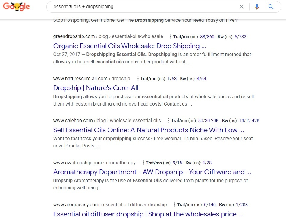 Essential Oils Drop shipping Google Search