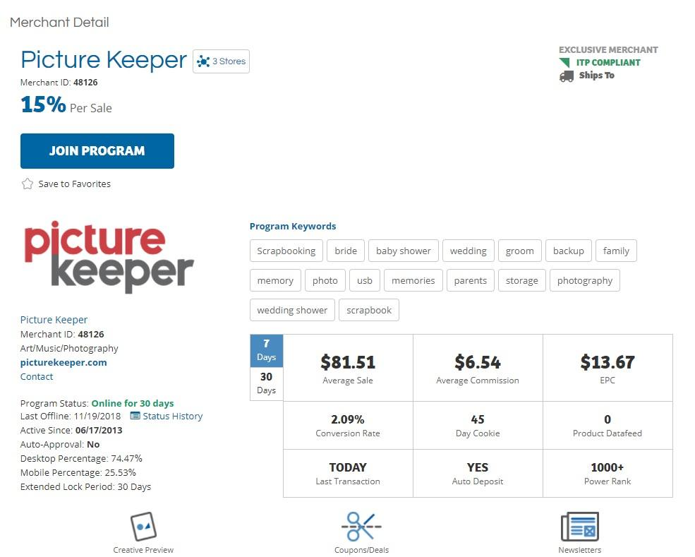 Picture Keeper Affiliate Program