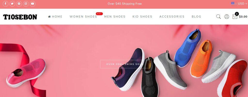Tiosebon Shoes
