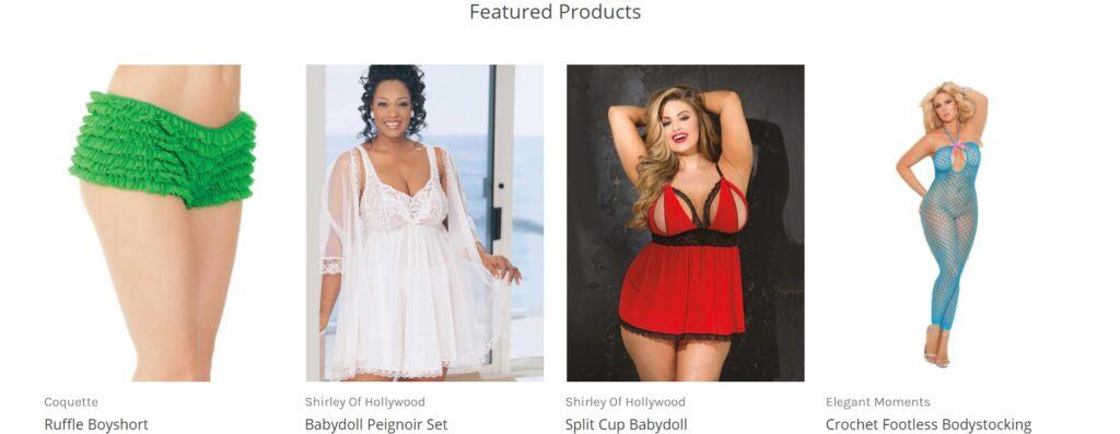 Angelique Lingerie Featured Products