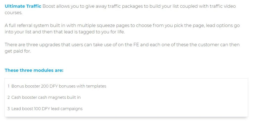 FE Ultimate Traffic Boost How does it Work
